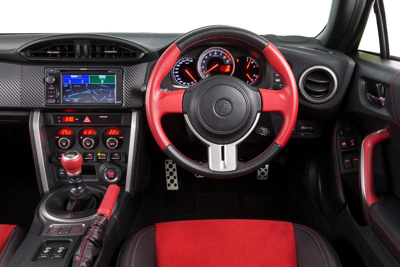 Toyota GT86 Blackline Edition interior
