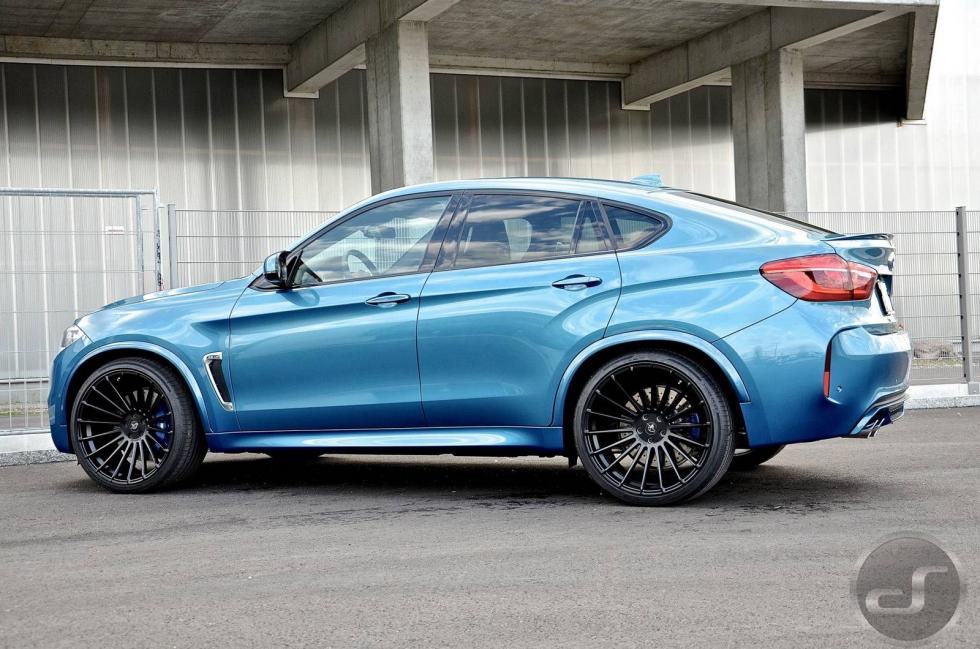BMW X6 M by DS lateral