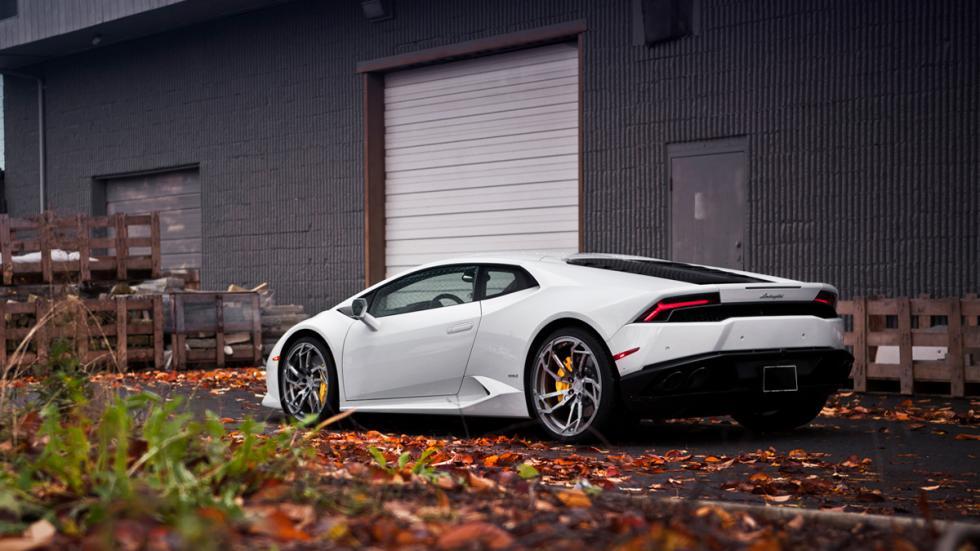 Lamborghini Huracan pur wheels trasera
