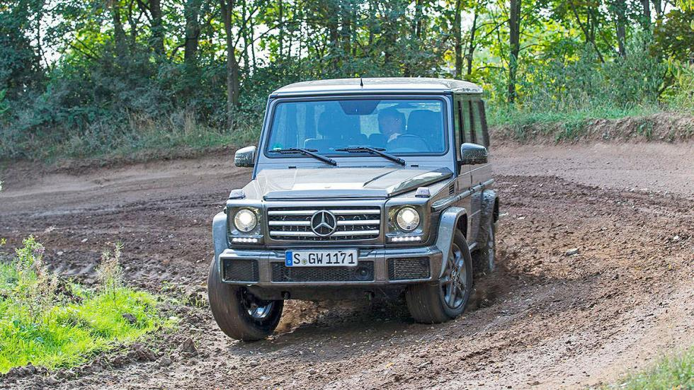 Mercedes Clase G frontal
