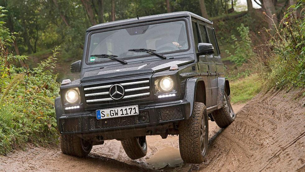 Mercedes Clase G 2015 frontal