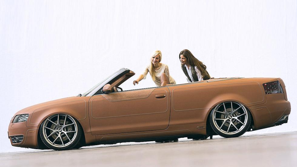 Audi S4 recubierto de Alcantara