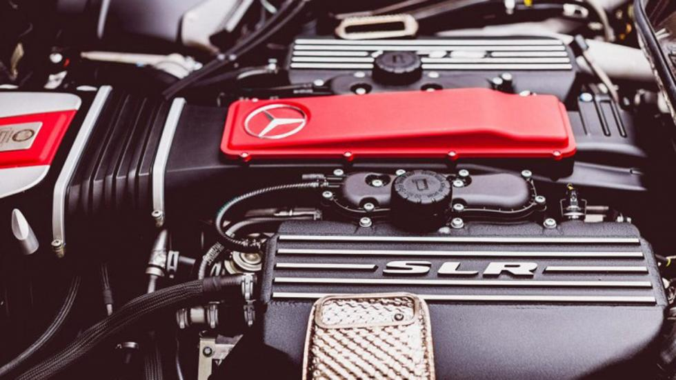 Mercedes SLR Stirling Moss motor