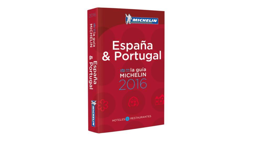 Guía Michelin España & Portugal 2016 portada