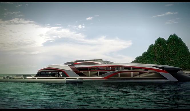 Kraken, el superyate inspirado en un superdeportivo 4