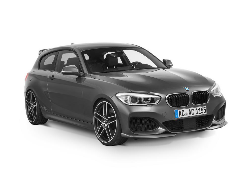 BMW Serie 1 by AC Schnitzer tres cuartos delanteros