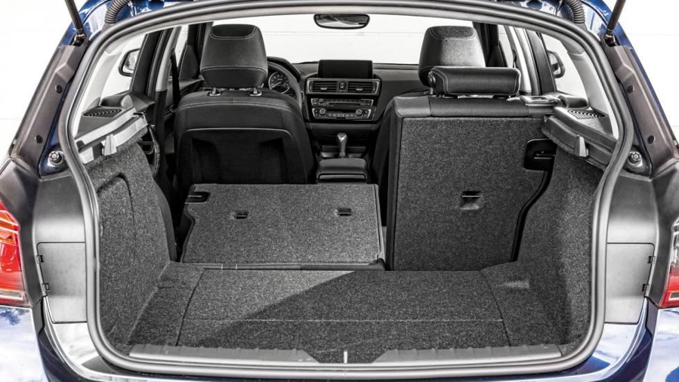 BMW 116i maletero
