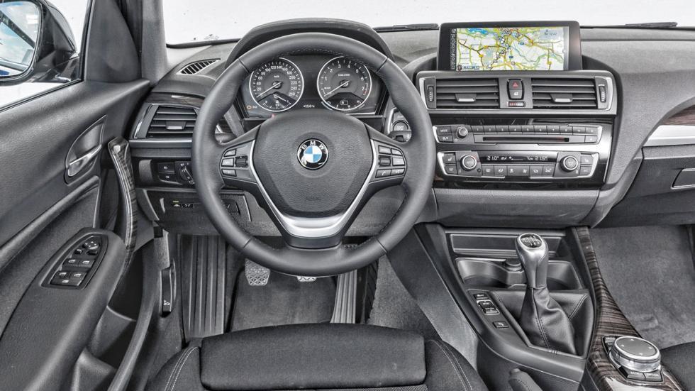 BMW 116i salpicadero