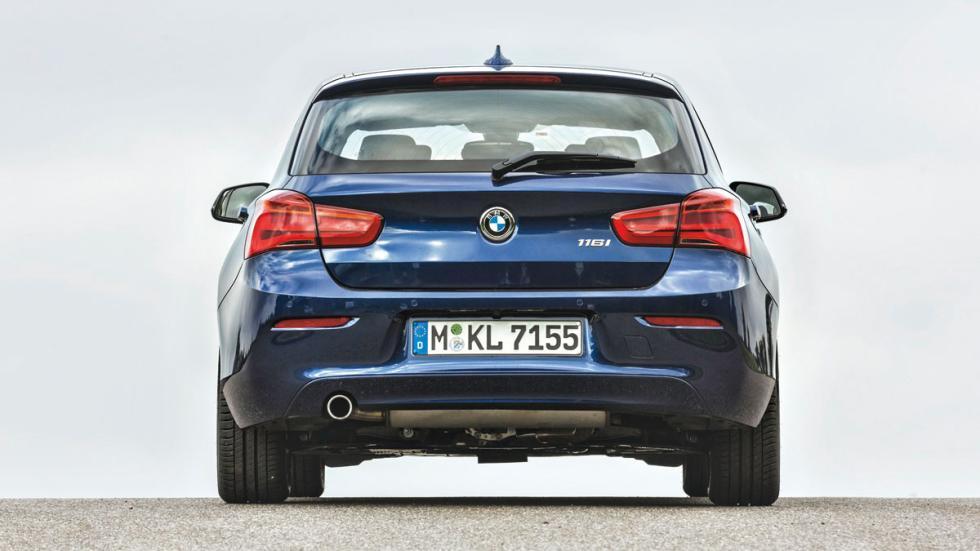 BMW 116i trasera