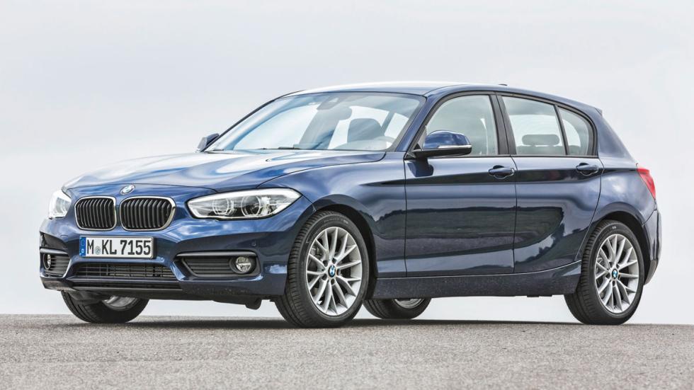 BMW 116i frontal