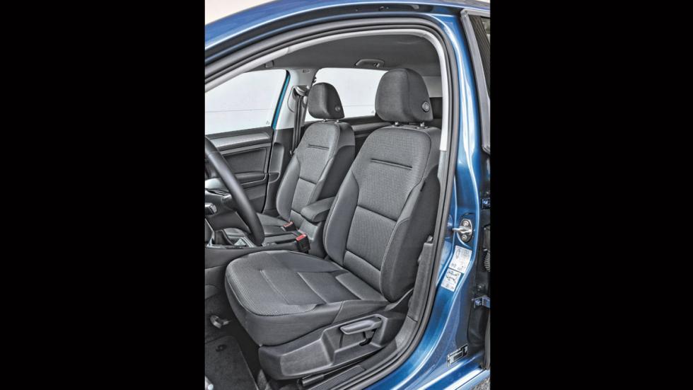 Volkswagen Golf 1.0 TSI asientos