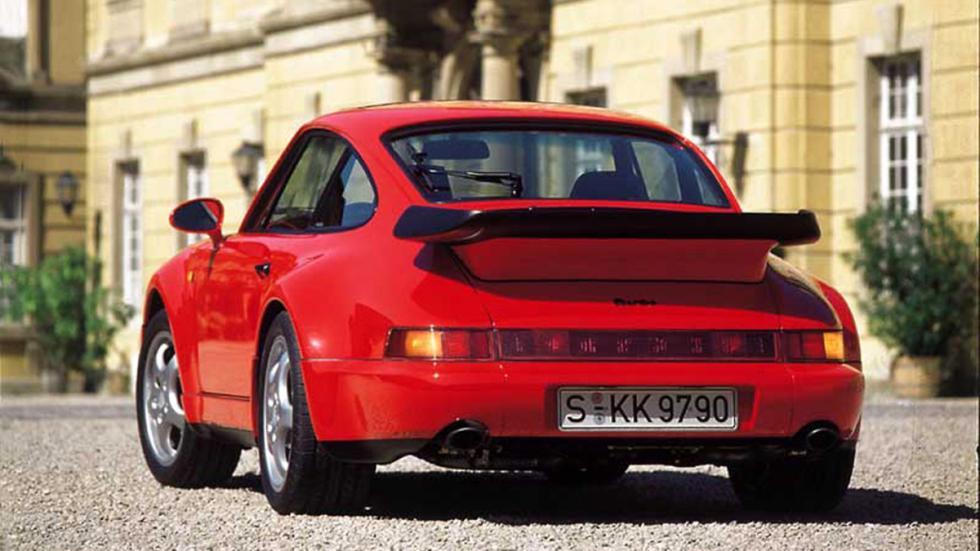 Porsche 964 Turbo 3.3 trasera