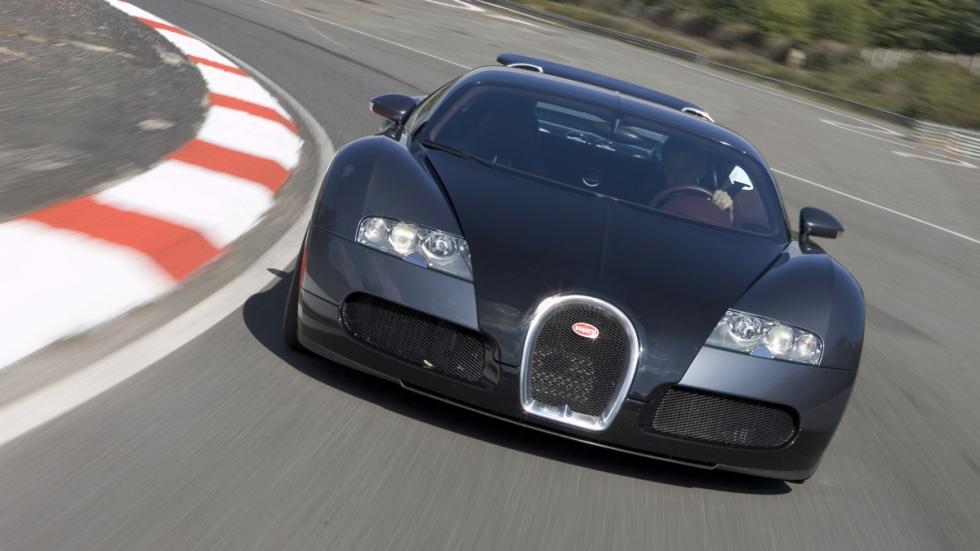deportivos malos circuito Bugatti Veyron