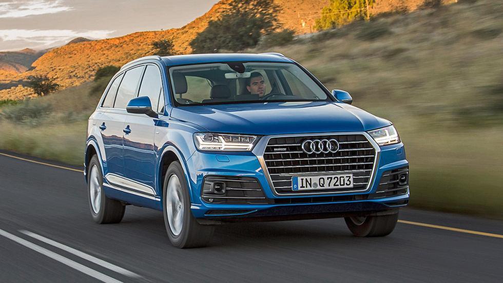 Prueba: Audi Q7 2015 carretera