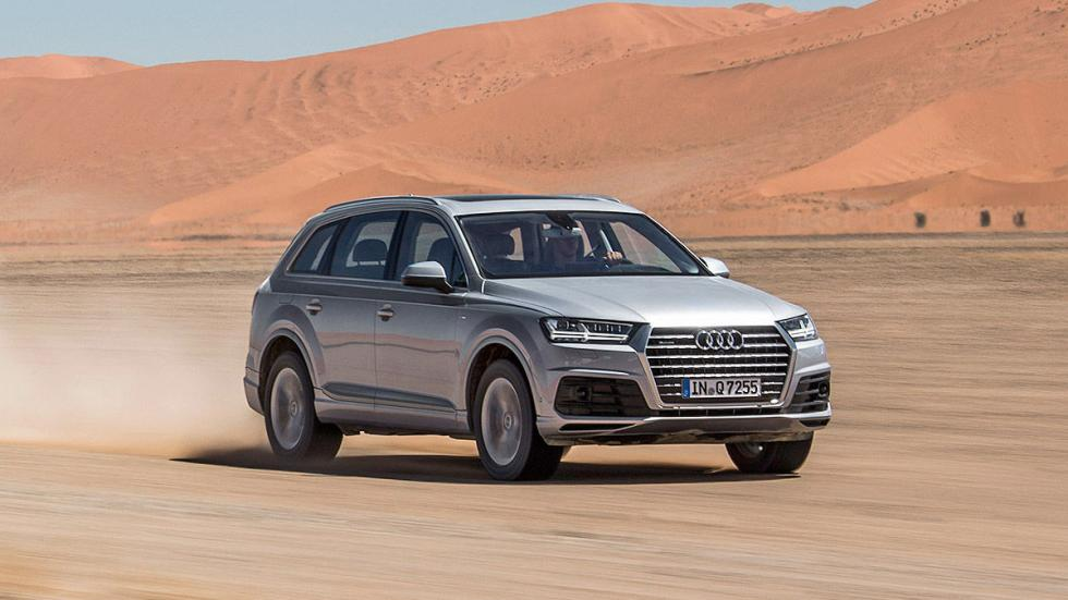 Prueba: Audi Q7 2015 carretera pista