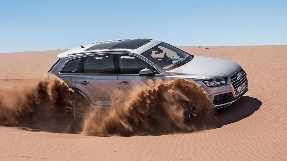 Prueba: Audi Q7 2015 desierto