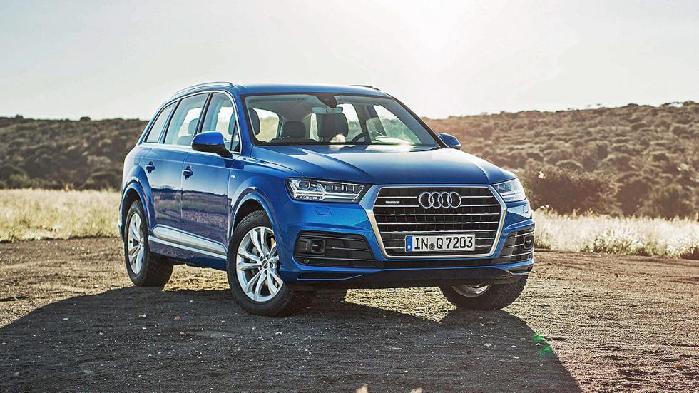 Prueba: Audi Q7 2015 desierto estática