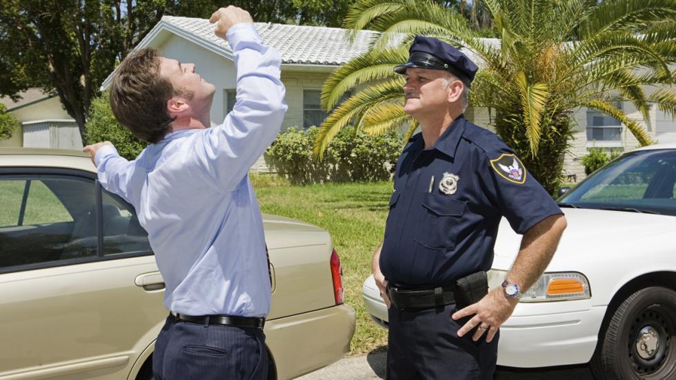 control de alcoholemia policia