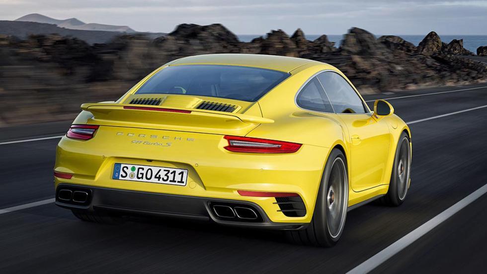 Porsche 911 Turbo 2016 trasera