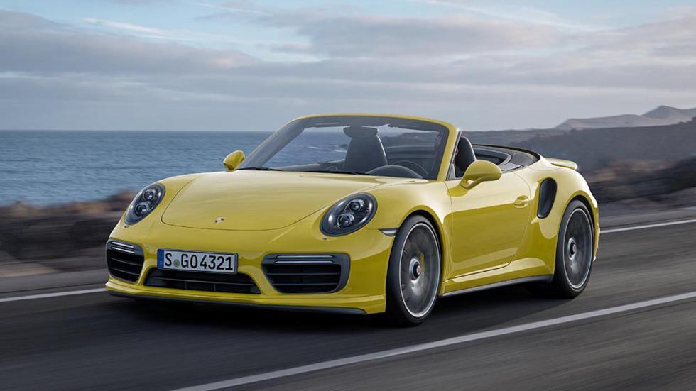 Porsche 911 Turbo 2016 cabrio
