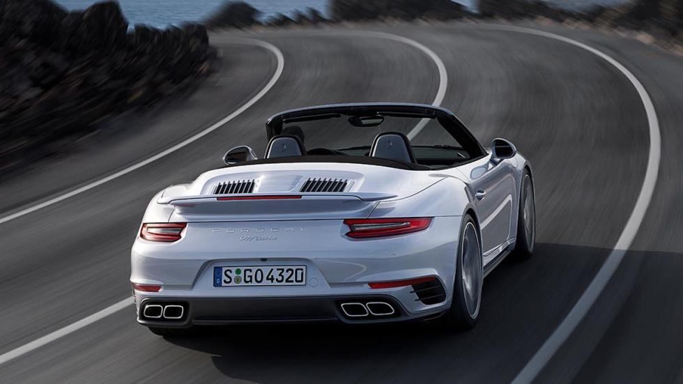 Porsche 911 Turbo 2016 cabrio trasera