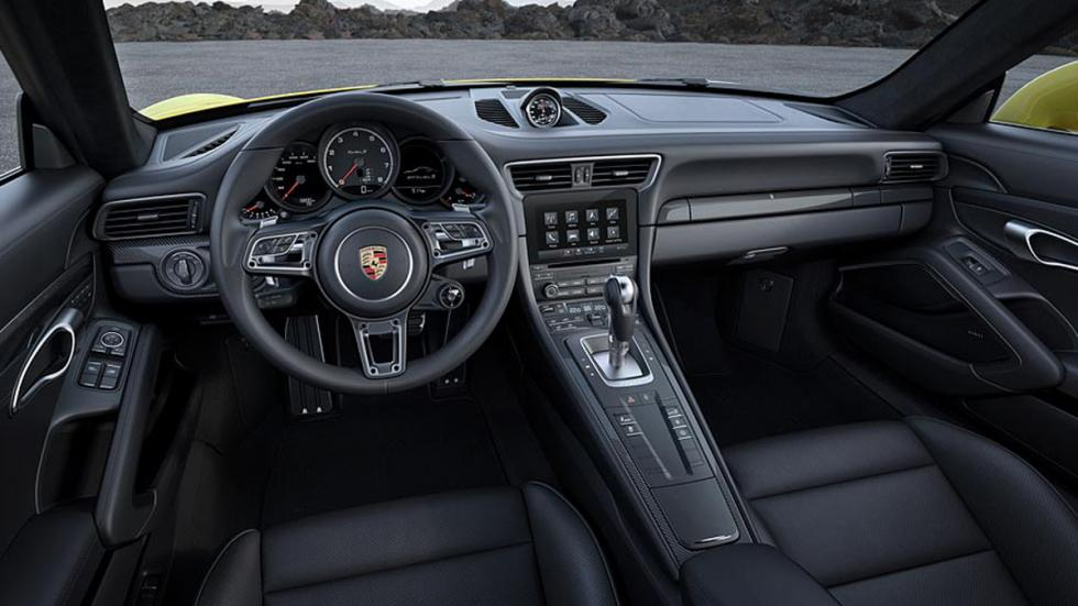 Porsche 911 Turbo 2016 interior