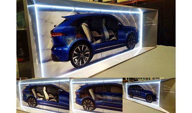 El jaguar F-Pace Recorre España tecnología 3D 2