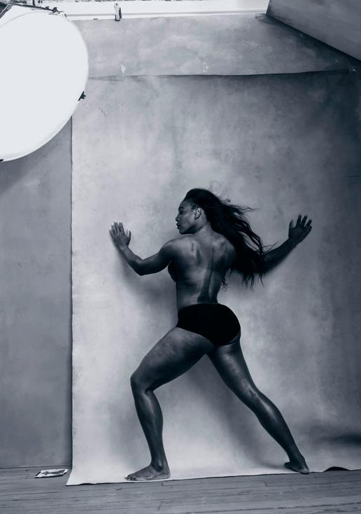 Serena Williams Calendario Pirelli 2016