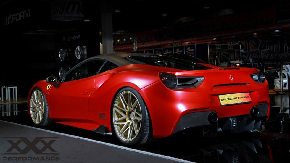 Ferrari 488 xxx performance trasera