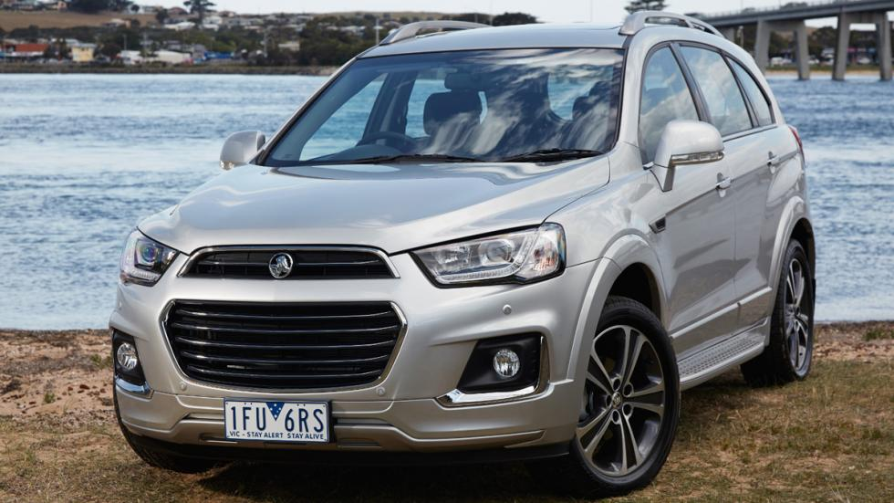 Holden Captiva 2016 frontal