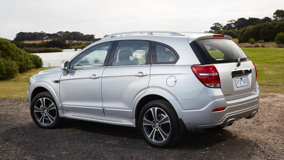 Holden Captiva 2016 lateral