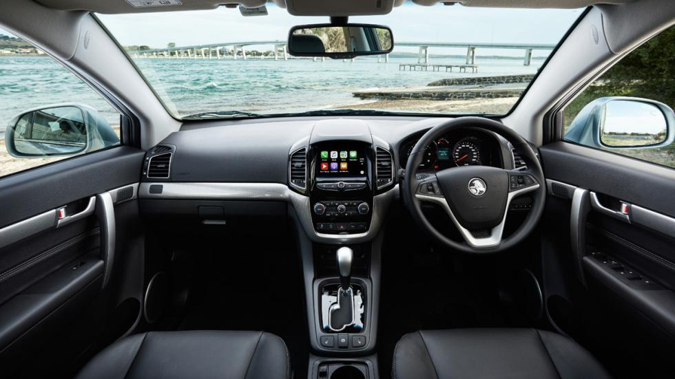 Holden Captiva 2016 interior