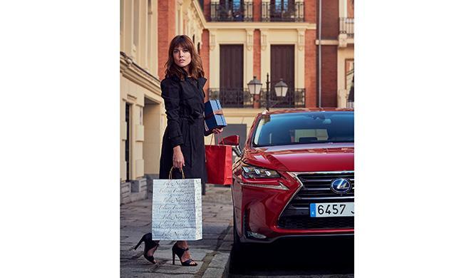 Adriana Ugarte Lexus Christmas Experience 3