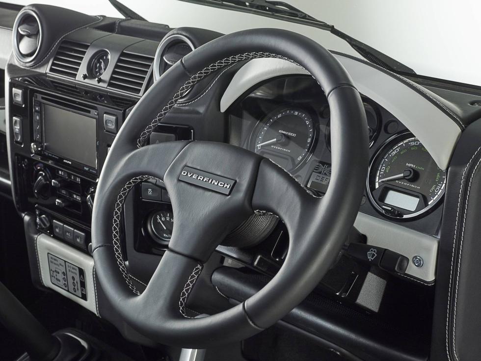 Land Rover Overfinch interior