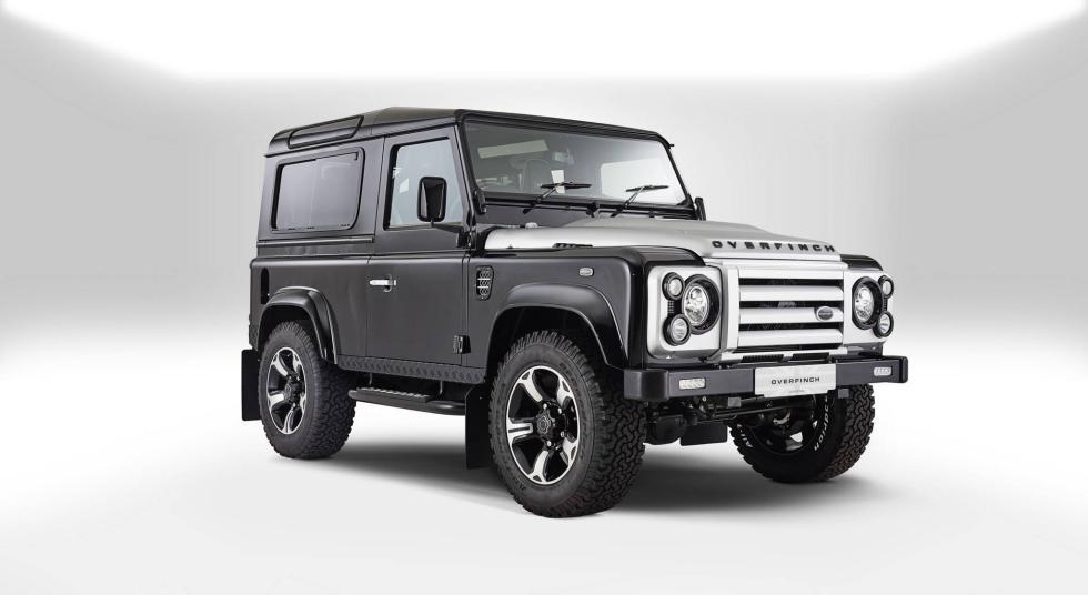 Land Rover Overfinch tres cuartos delanteros