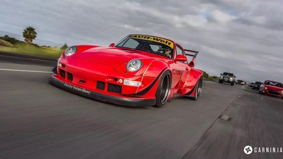 Porsche 993 de Rauh Welt Begriff delantera