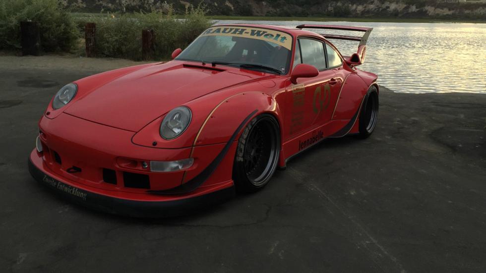 Porsche 993 de Rauh Welt Begriff estática