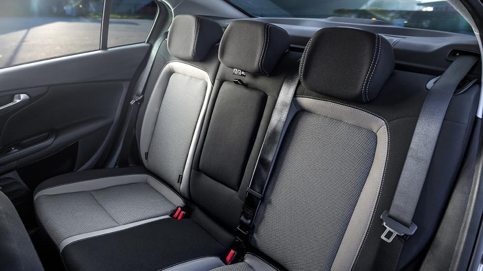Nuevo Fiat Tipo asientos traseros
