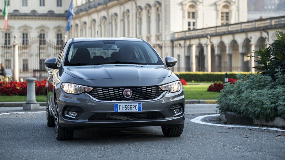 Nuevo Fiat Tipo parrilla