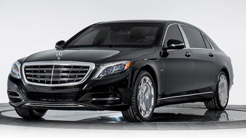Mercedes-Maybach S 600 blindado