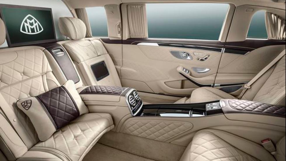 Mercedes-Maybach S 600 blindado habitáculo