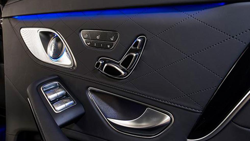 Mercedes-Maybach S 600 blindado puertas