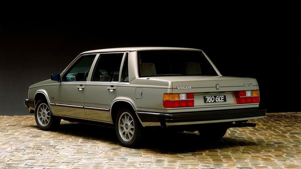 Volvo 760 trasera