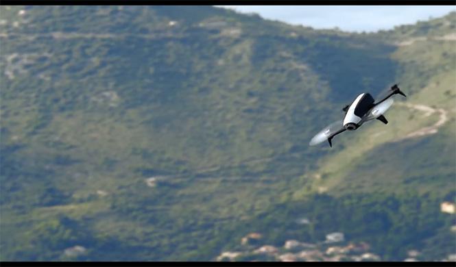 Bebop 2, el drop de parrot 4