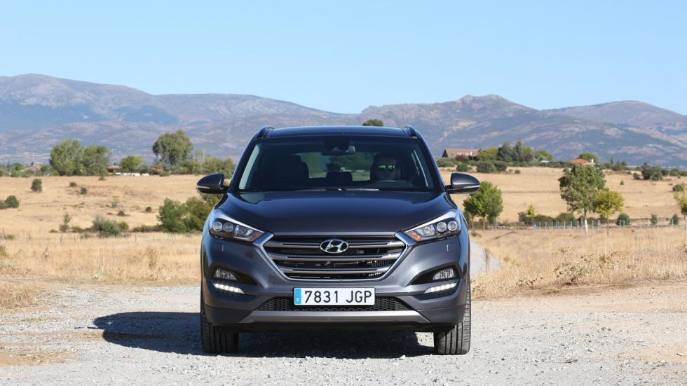 Hyundai Tucson frontal