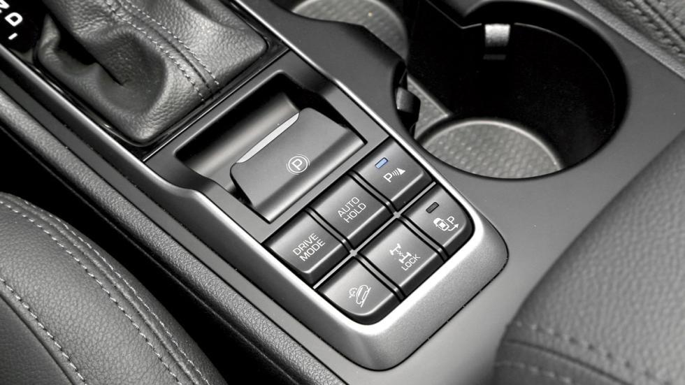 Hyundai Tucson modos conducción