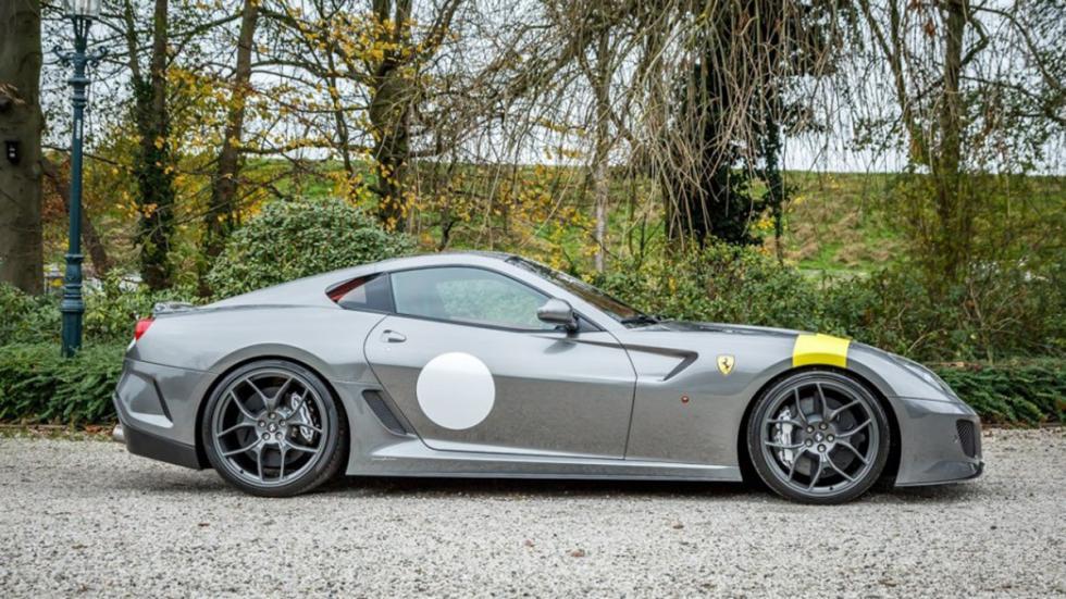 Ferrari 599 GTO venta lateral