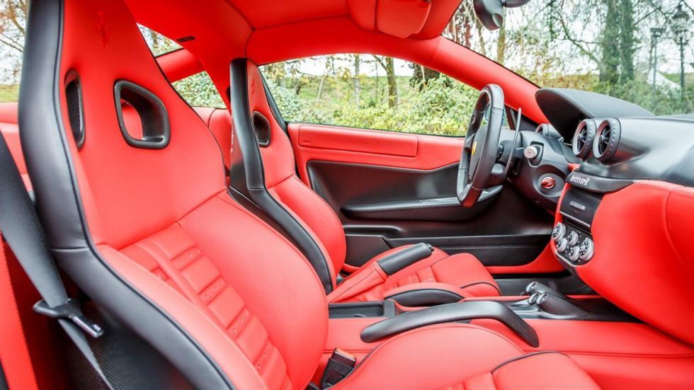Ferrari 599 GTO venta interior rojo