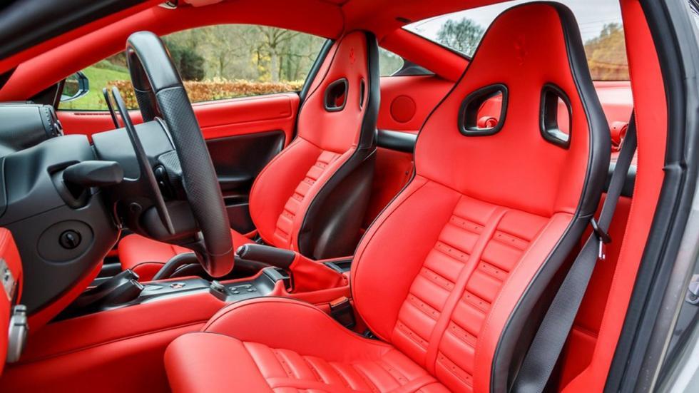 Ferrari 599 GTO venta asientos rojos