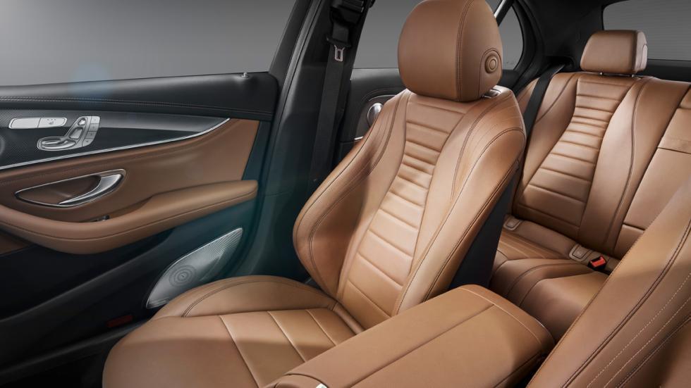 Mercedes Clase E 2016 interior asientos